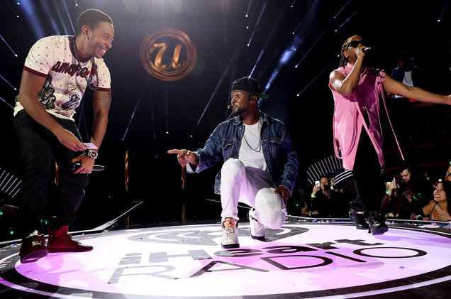 [Left to right] Ludacris, Usher, and Lil Jon. Photo Courtesy of Billboard.